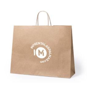 bolsa de papel personalizada logo